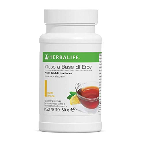 Herbalife Infuso a Base di Erbe Polvere Solubile Istantanea - Limone - 50g