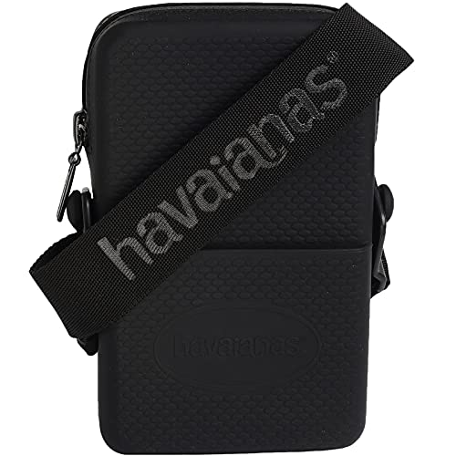Havaianas, Street Bag Unisex-Adulto, Nero, Normal