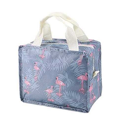 Portatile Toilette Organizzatore Estetista Kit Necessità Viaggi Big Capacity sacchetto impermeabile cosmetico di trucco portatile Bag Per la conservazione (Color : Flamingo)