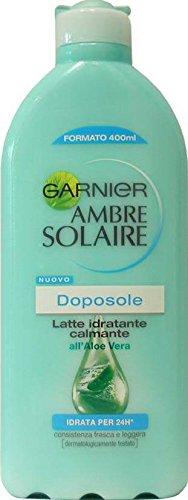 GARNIER AMBRE SOLAIRE Latte Doposole Idrat. Calmante 400 Ml.