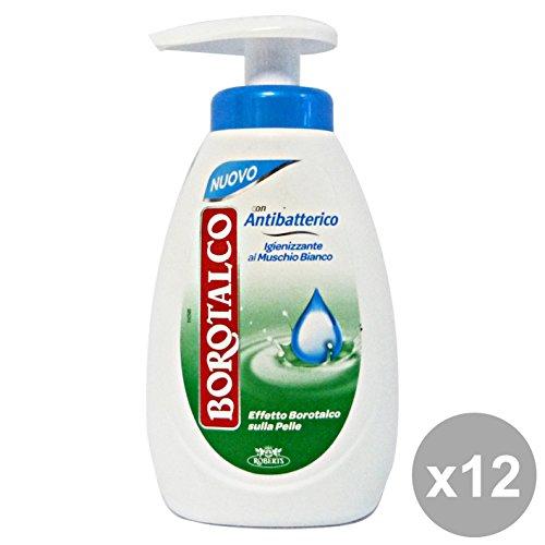 Set 12 BOROTALCO Sapone Liquido Antibatterico 250 ML Saponi e cosmetici
