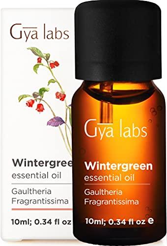 Olio essenziale di Wintergreen - Un tocco rilassante di sollievo per i muscoli doloranti (10 ml) - Olio Wintergreen puro al 100% di grado terapeutico