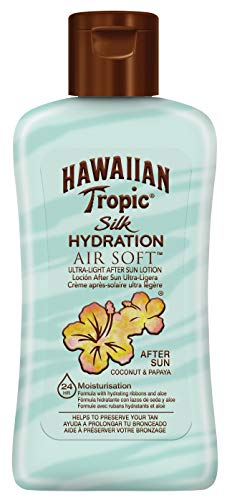 Hawaiian Tropic Silk Hydration Air Soft Crema doposole , 2 x 60 ml