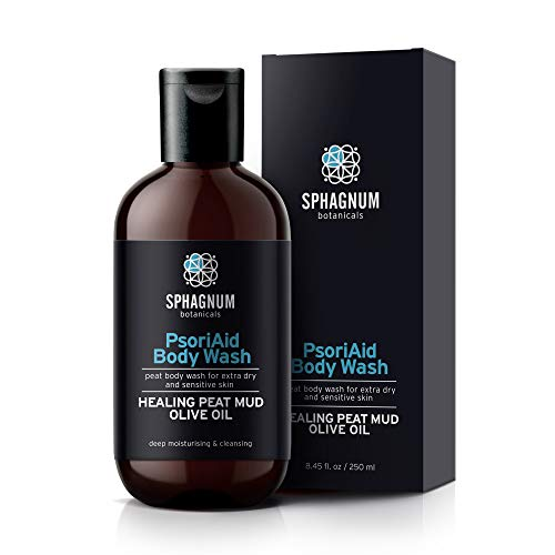 Eczema Body Wash & Cream 2in1-100% Crema per doccia con bilanciamento del pH naturale e olio d'oliva.Trattamento idratante profondo senza solfati per pelli molto secche e pruriginose
