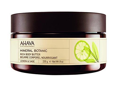 AHAVA Burro Corpo Minerale Agli Estratti Vegetali Di Limone E Salvia - 235 ml.