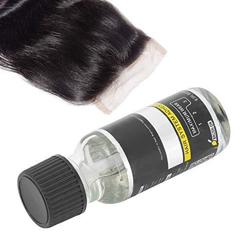 Colla per parrucche in pizzo Adesivo sostitutivo per capelli, colla per estensione dei capelli per parrucchino, colla invisibile, strumenti per lo styling dei capelli