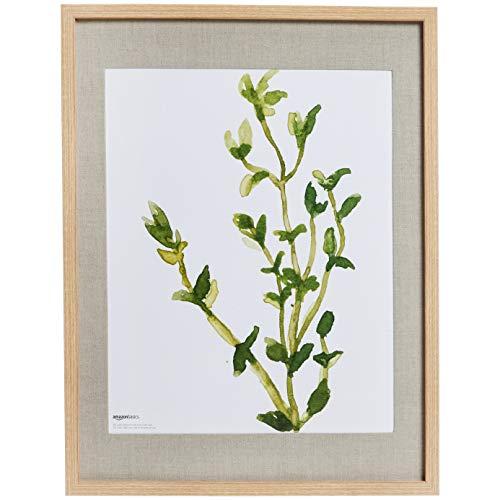 Amazon Basics - Cornice per foto semplice da parete, 48 x 64 cm, per foto da 41 x 51 cm, naturale (confezione da 2)