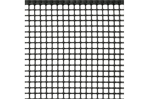 Rete Protezione in Plastica a maglie piccole per balconi, ringhiere, cancelli, disponibili in 5 colori e varie lunghezze h m 1x30 ANTRACITE