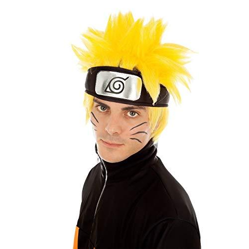 Chaks Accessorio per Parrucca Naruto Uzumaki Giallo