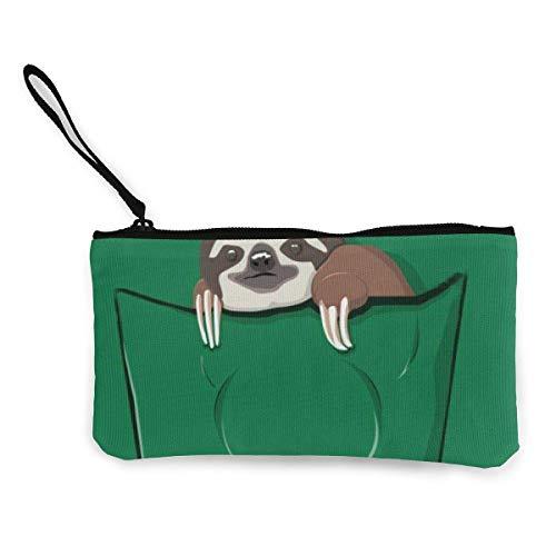 XCNGG Portamonete Shell custodia Canvas coin purse for Women Make Up Bag Fashion Travel Toiletry Bag