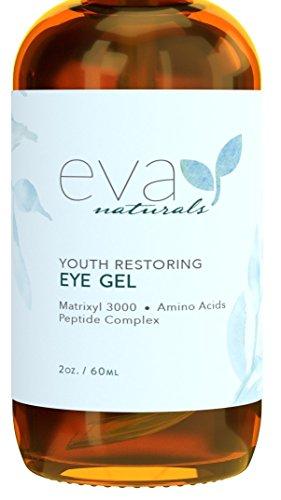 Gel Contorno Occhi - Miglior crema rassodante per occhiaie, gonfiore, zampe di gallina e rughe d'espressione (2oz)