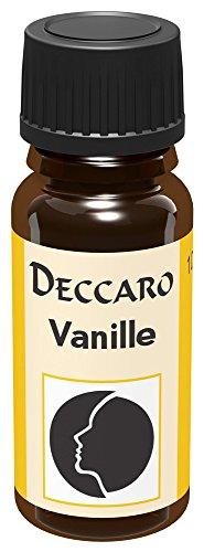 DECCARO Olio Aromaticol Vaniglia, 10 ml (Olio profumato)