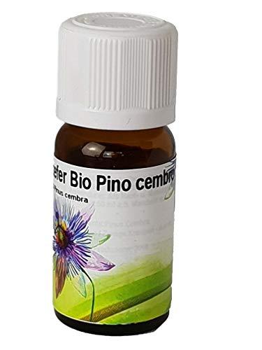 Bio Pino cembro (Cirmolo) di olio essenziale Alto Adige, 100% naturali e biologici 10ml