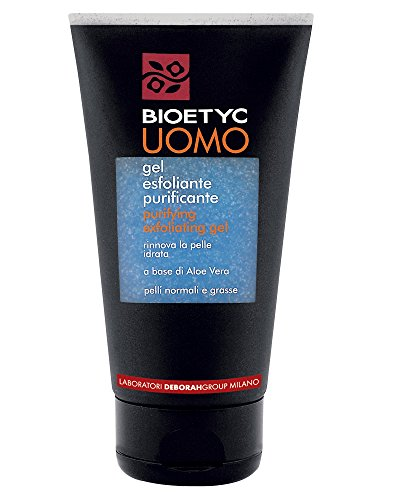 Bioetyc Uomo Gel Esfoliante Purificante, 150 ml