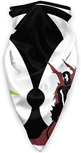 Lawenp Spawn simbolo sfondo viso sciarpa bandane per polvere, all'aperto, festival, sport