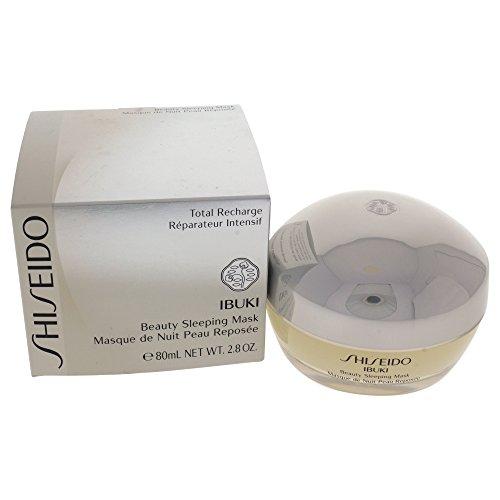 Shiseido IBUKI Beauty Sleeping Mask, Maschera Viso Notte Rilassante, 80 ml