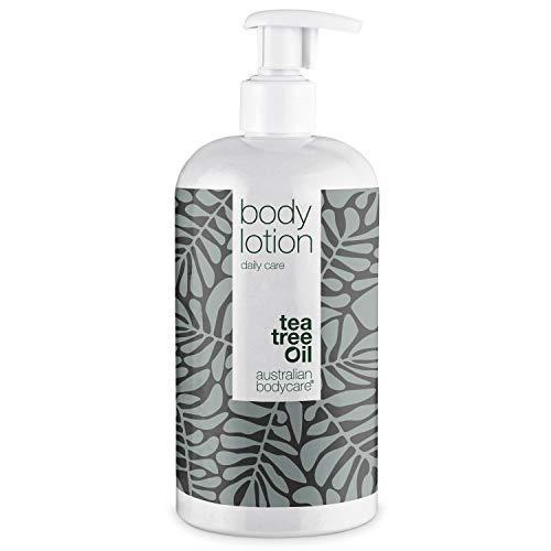 Australian Bodycare Body Lotion 500 ml | Lozione quotidiana | Crema idratante contro pelle secca, brufoli, tigna, funghi, prurito, acne e cattivi odori di corpo e piedi | Con tea tree oil