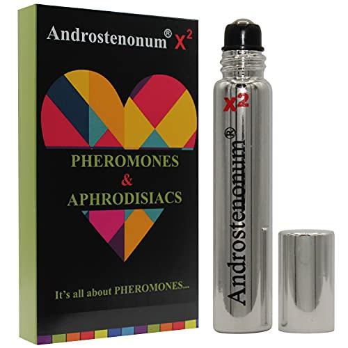 ANDROSTENONUM X2 100% feromone per uomo roll-on da 8 ml feromoni umani in regalo per lui attirano le donne Afrodisiaci molecole extra forti