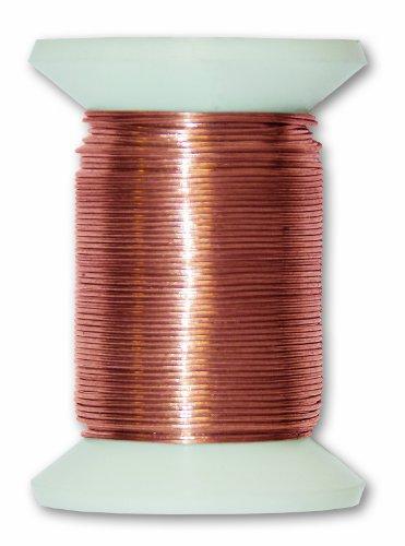 Chapuis VFCA2 Filo metallico in rame - Diametro 0,4 mm - Lunghezza 30 m