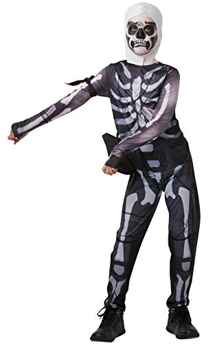 Rubie' s Costume ufficiale Fortnite Skull Trooper, Medium, Height 152 cm