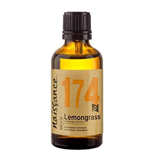 Naissance Olio di Lemongrass, Flexuosus - Olio Essenziale Puro al 100%, Vegano, senza OGM - 50ml