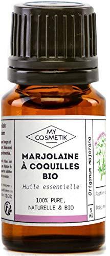 Olio essenziale di maggiorana a conchiglia Organico - MyCosmetik - 10 ml