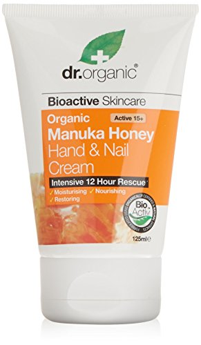 Dr. Organic Manuka Honey Crema Mani e Unghie, 125ml