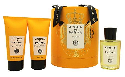 Acqua di Parma Colonia Confezione Regalo 100ml EDC + 75ml Gel Doccia + 75ml Crema Corpo