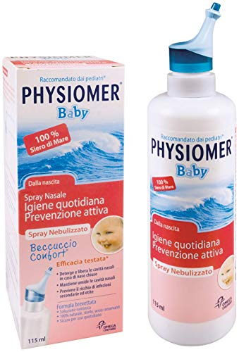 Physiomer Baby Spray Nebulizzato, 115 ml