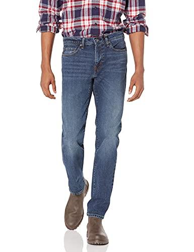Amazon Essentials Slim-Fit Stretch Jean Jeans, Medium Wash, 30W / 28L