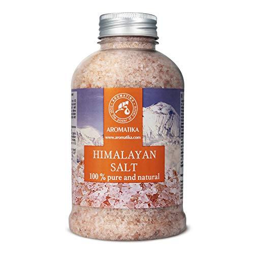 Sale Rosa Himalaya 600g - Puro e Naturale 100% - Sale Himalayano - Ideale per Dormire Bene - Rimedi Contro lo Stress - Bagno - Bellezza - Rilassante - Sali da Bagno