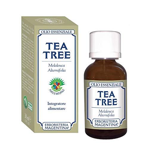 Erboristeria Magentina Tea Tree Olio Essenziale Integratore Alimentare 30ml