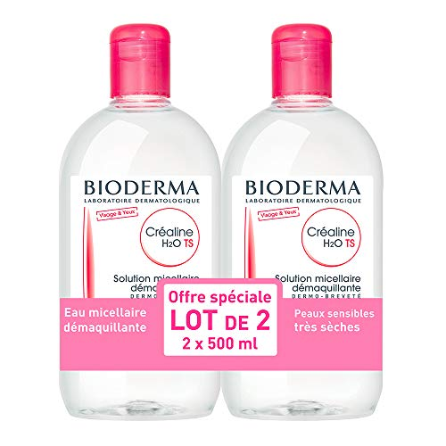 Bioderma Crealine TS H2O Micelle Solution 2x 500ml