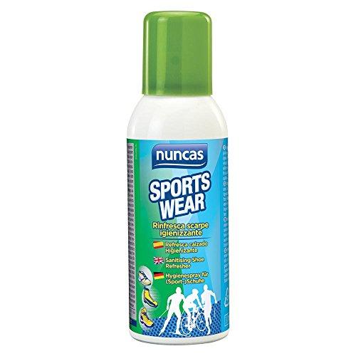 nuncas Sportswear rinfresca Scarpe Spray igienizzante - 150ml