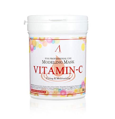 Anskin Maschera modellante originale, con vitamina C, 240 g