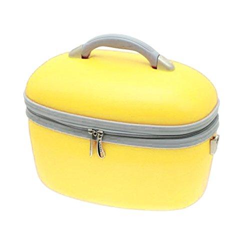 Unbekannt Beauty Case da viaggio giallo gelb s