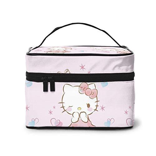 Borsa per trucco, Beauty Kitty Borsa da viaggio portatile per cosmetici Borsa da toilette per borse da donna Borsa da bagno per organizzatore