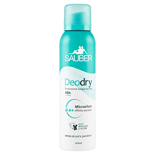 Sauber Deodorante Deodry Spray - 150 Ml