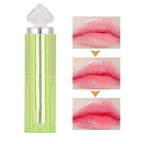 3 g/ml Balsami per labbra naturali Balsamo per labbra, Rossetto nutriente per lucidalabbra che cambia colore, Stick nutriente per la cura delle labbra Idratante per labbra screpolate, fragili e secche