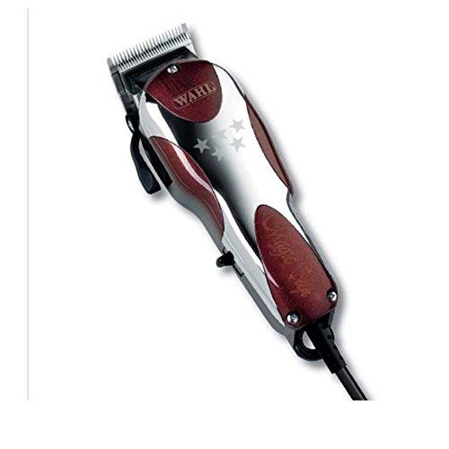 Wahl Magic Clip 5 Stars Series, Type STX - Rasoio elettrico profesionale per capelli, red