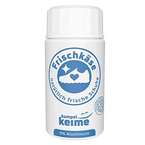Frischkäse - la polvere microbiologica per scarpe, deodorante contro l'odore del piede, meglio di uno spray, freschezza per scarpe da lavoro, scarpe di sicurezza, scarpe sportive e molto altro ancora.