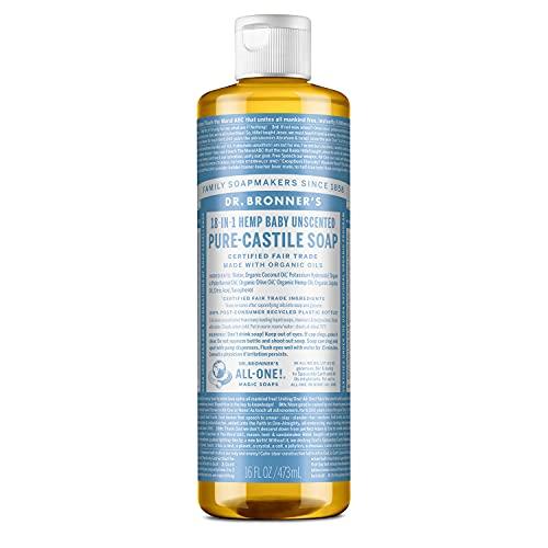 Dr Bronner Baby Mild organico Castiglia sapone liquido 473ml