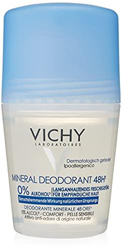 Vichy DEO, Deodorante Minerale Roll-On, 48 h, 50 ml