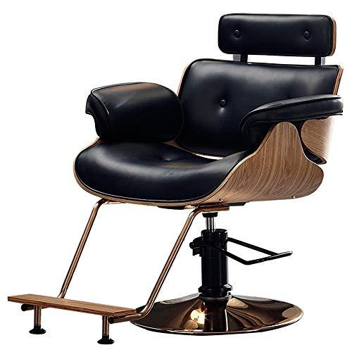 Mr.Zhang's Art Home Parrucchiere Multicolore PU Sedia da Barbiere Parrucchiere Poltrona reclinabile Sedia da Barbiere Rotante Poltrona da Spa