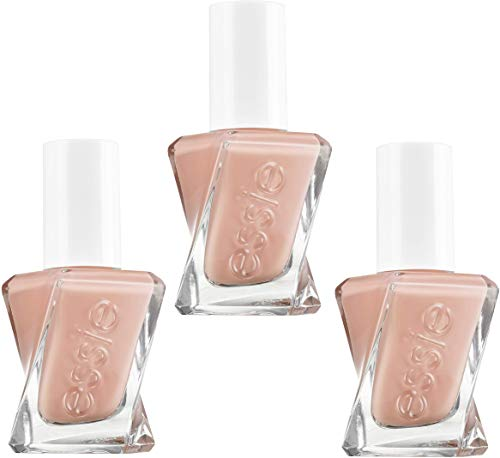 Smalto per unghie Essie Gel Couture 30 cucirmi 13,5 ml di pesca, set di 3 (3 x 13,5 ml)
