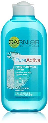 L'Oreal Garnier Skin Pure - Tonico astringente purificante, 200 ml