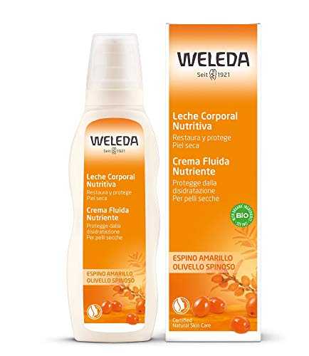 WELEDA Olivello Spinoso Crema Fluida Trattamento Nutriente 200 Ml