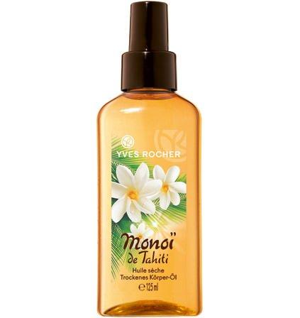 Yves Rocher–Monoi de Tahiti (125 ml): Olio secco per il corpo per una pelle curata e delicatamente profumata.