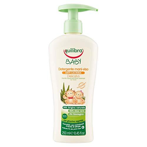 Equilibra Baby Detergente Mani-Viso Delicato, 250 ml