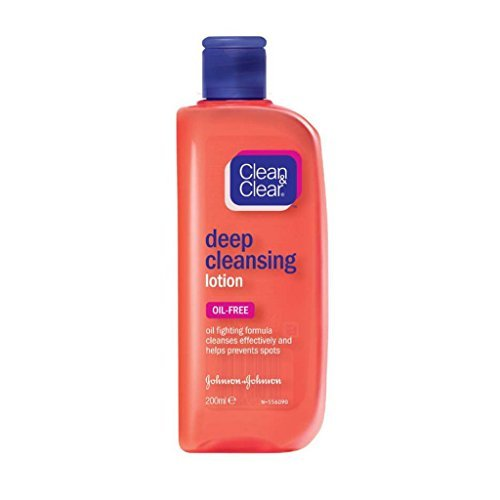 2 Pezzi Clean & Clear deep cleansing lotion oil free 200 ml